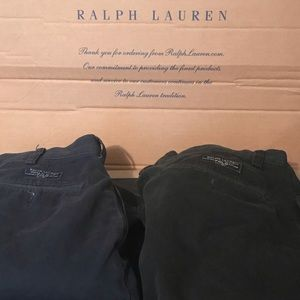 2 Polo Ralph Lauren Chino Shorts 1 Navy 1 Black